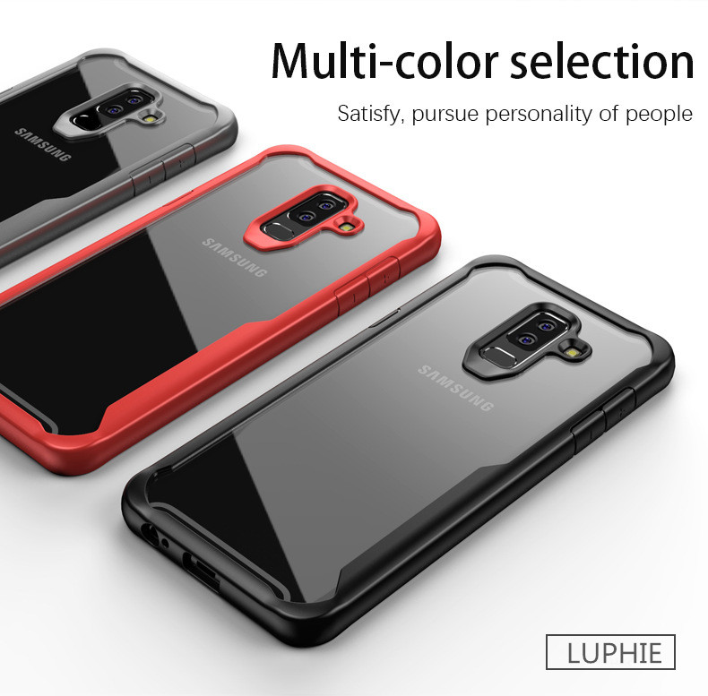 LUPHIE Case for Samsung S9 S8 Plus Note 8 Shockproof Transparent Back Cover Ultra thin Soft TPU Shell(2)