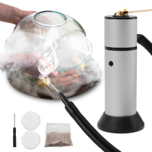 Boruit Smoking-Gun Smoker Cuisine Cold-Smoke-Generator Molecular Wood Meat-Burn Portable