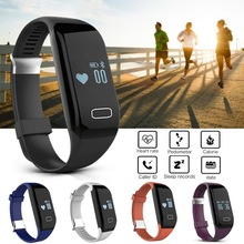 New Hot H3 Smartband Heart Rate Monitore Smart Wristband Bracelet Health Wrist Watch Call Alarm Vibrating for Android&ios phone