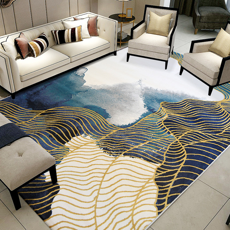 Retro Car License Plate Home Area Rugs Kids Play Room Carpet Modern Floor Mat