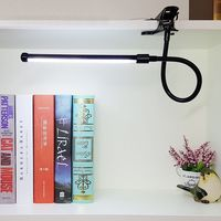 DX LED Book Reading Table Light Lamp Bright Flexible Adjustable Clip On Arm Study Desk Light