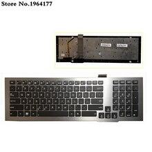 Клавиатура с черной подсветкой для Asus G75VW G75 G75V G75VX 0KNB0-9414UI00 с рамкой