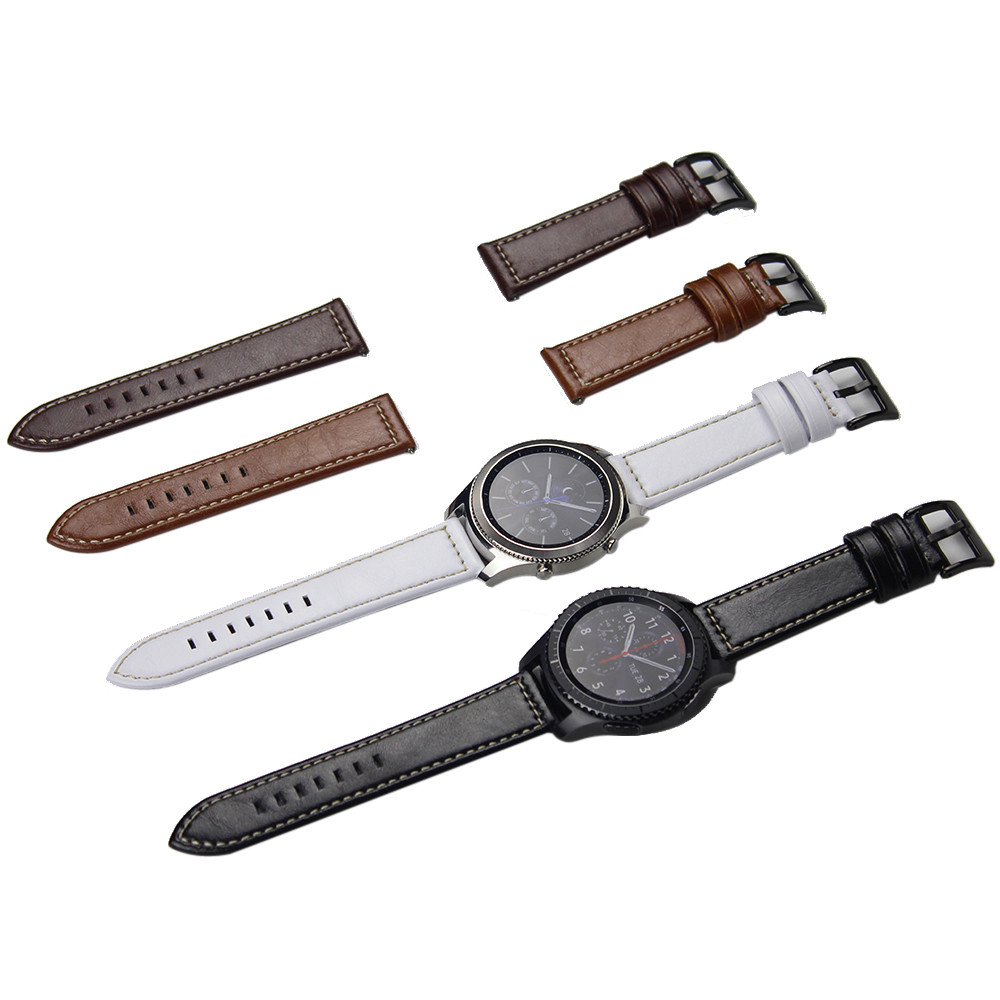 Hothot Super Design  Luxury Leather Watch Bracelet Strap Band For Samsung Gear S3 Frontier/Classic for your luxury Watch Feb24 смарт часы samsung gear s2 black