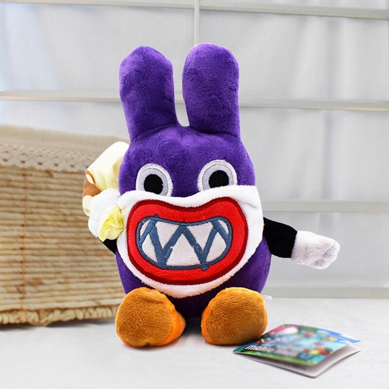 Super Mario Thief Nabbit Rabbit 19cm Mushroom Plush Toy Anime