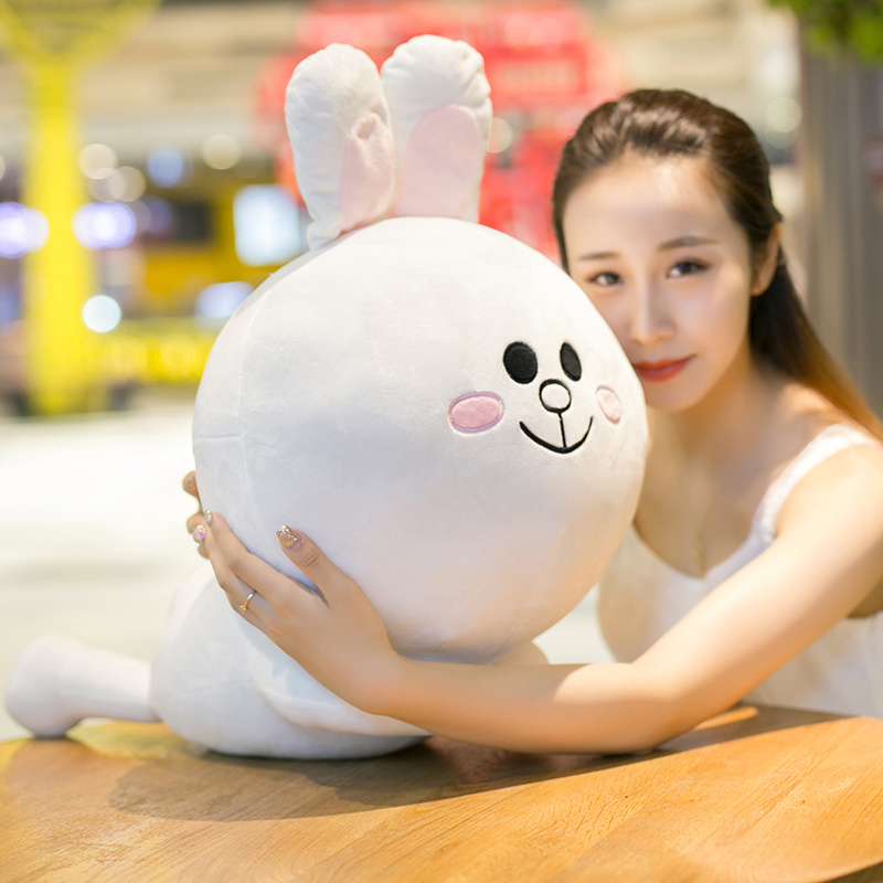 30/45 cm Soft Hottest Korean Bear Rabbit Duck Plush Toy Plump Bear Toy Doll For Kids Birthday Gift or Shop Home Decoration