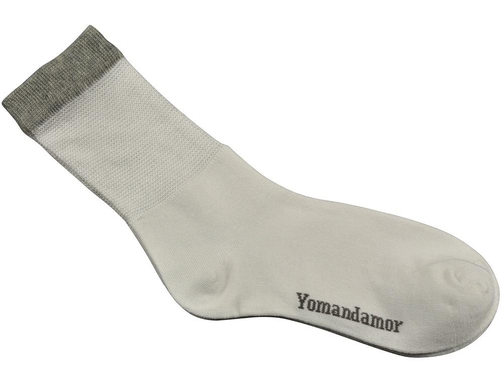 Womens Diabetic Socks White 3