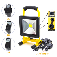 Free shipping 20W LED Work Light Rechargeable Portable Spotlight Outdoor Emergency Work Lamp Waterproof Light for Camping Garden