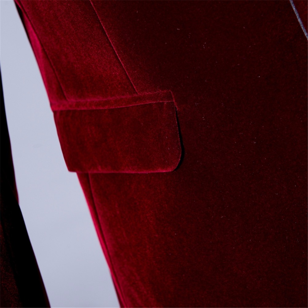 Suit velvet blazer (13)