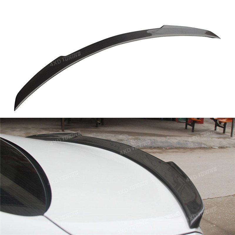 For Mercedes W205 Carbon Spoiler FD Style Coupe C Class W205 C180 C200 C300 Carbon Fiber Rear Spoiler Rear Trunk Wing 2014 -ON for mercedes w205 spoiler r style sedan c class c180 c200 c250 c260 w205 carbon fiber rear spoiler rear trunk wing styling 2014