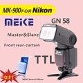 Meike MK 900 Câmera TTL Flash Speedlite para Nikon SB 900 D7100 D7000 D5200 D5100 D5000 D800 D600 D90 D80 + difusor