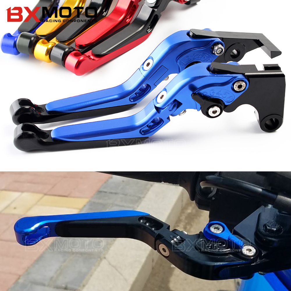motorbike Brake Levers For YAMAHA YZF R1 YZFR1 2009-2013 2014 Motorcycle Adjustable Folding Extendable Brake Clutch Levers Set for yamaha yzfr1 yzf r1 2009 2015 10 11 12 13 14 black motorcycle cnc aluminum adjustable short brake clutch levers logo yzf r1