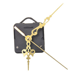 Luxury Long spindle Quartz Clock Movements Mechanism Parts Repair Making DIY Watch Tools with Gold Hands Silence