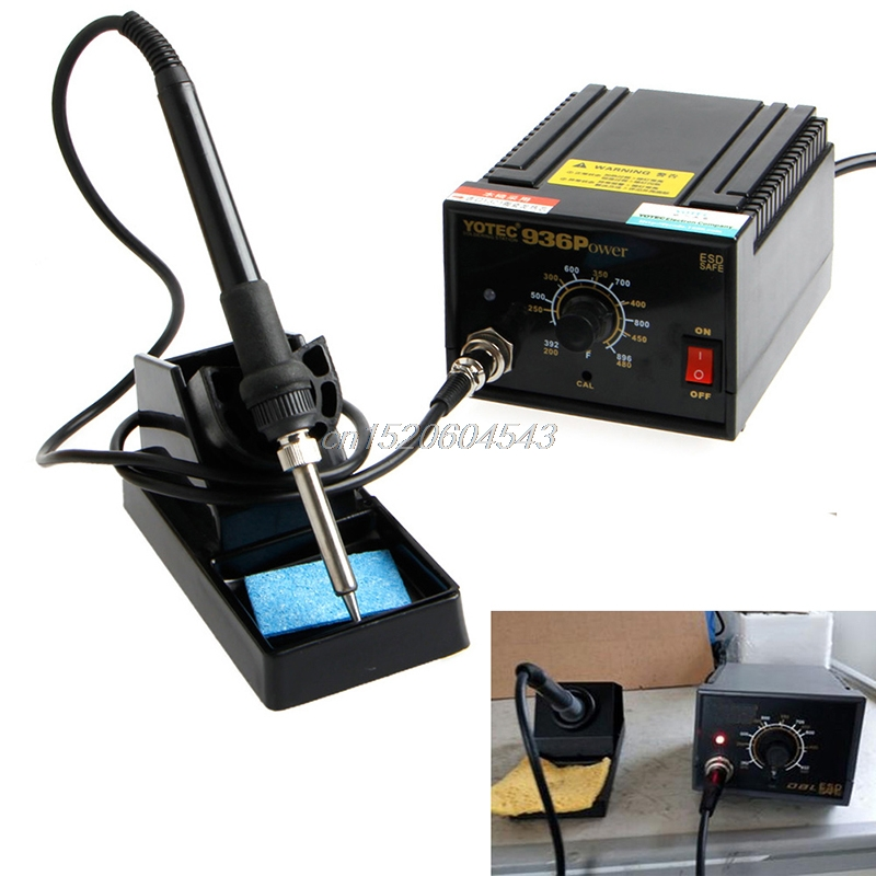 936 Power Electric Soldering Station SMD Rework Welding Iron 110V 220V R02 Drop ship