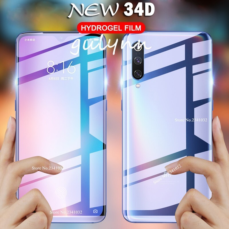 New 34D Soft Hydrogel Front & Back Protective Film For Redmi 7 7A Note 7 6 5 K20 Pro 6A Full Coverage Screen Protector Nano Film