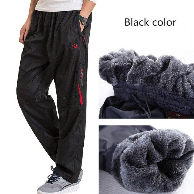 8f97e432454 Sportswear Outdoors Men s Winter casual pants men casual sweatpants trousers  baggy Fleece super warm pants plus size 4XL 5XL 6XL