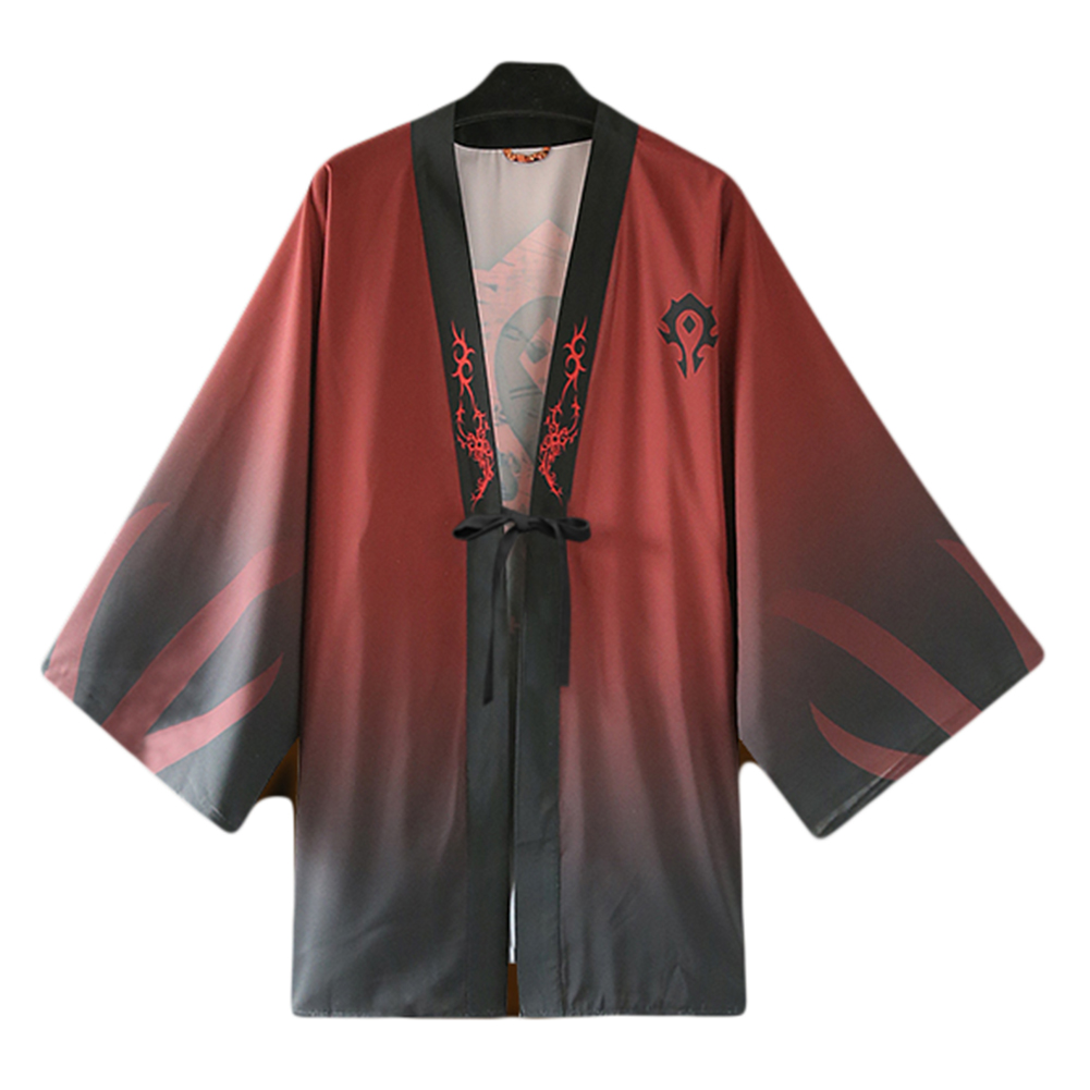 Brdwn WOW Unisex The Horde The Alliancecospplay Haori Cape cloak