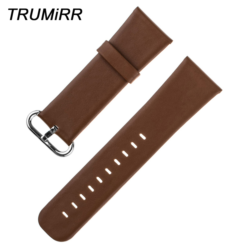 все цены на Genuine Leather Watchband 22mm Wide for LG G Watch W100 R W110 Urbne W150 Asus Zenwatch 1 2 22mm Smartwatch Band Strap Bracelet онлайн