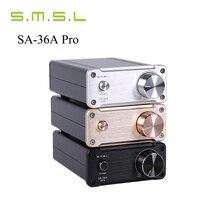 SMSL SA-36A Pro Amplificateurs AMP 20WX2 TDA7492PE HIfi Audio Numérique Amplificateur Classe d Amplificateur de Puissance Avec 12 V Alimentation noir