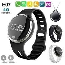 Ip67 водонепроницаемый смарт браслет здоровья деятельность фитнес-gps трекер bluetooth синхронизация браслет шеи висит типа smart watch
