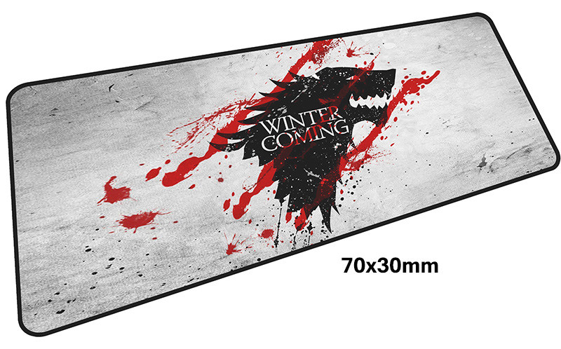 Game of Thrones mouse pad gamer 700x300mm notbook mouse mat large gaming mousepad large best pad mouse PC desk padmouse anime tokyo ghoul mouse pad gamer 900x300mm notbook mouse mat gel large gaming mousepad hd pattern pad mouse pc desk padmouse