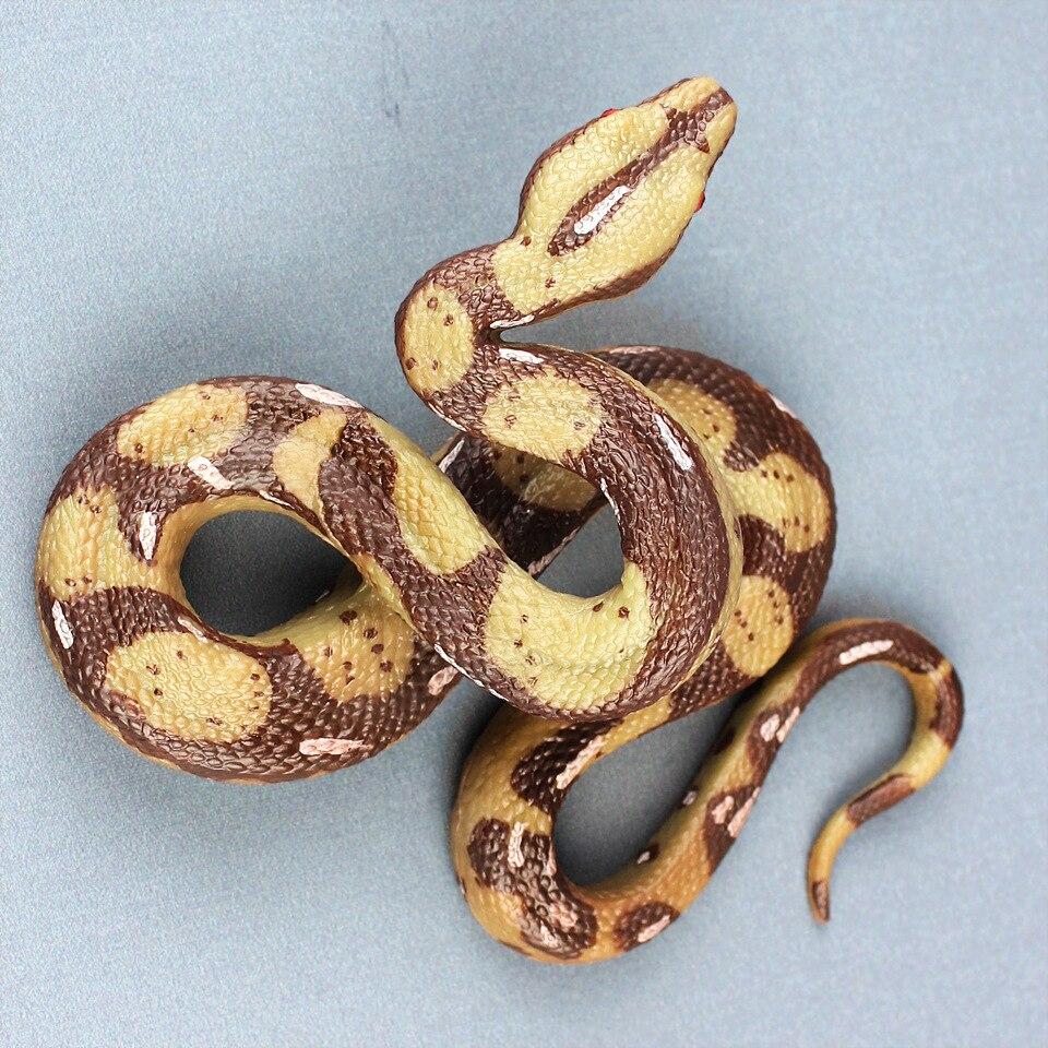 Monster-Toys Collection Snake-Model Horrible Animal for Children 15CM Bedroom-Decor Python