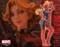 Sıcak Marvel Süper Kahraman Bitiş Şarkısı Heykeli Lady Deadpool Seksi Kotobukiya 23 CM Action Figure