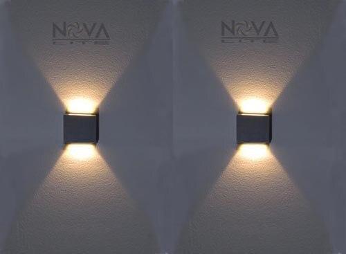 Illuminazione A Parete Per Interni Led : Ac a ac v pz w led passo leggero a basso livello parete