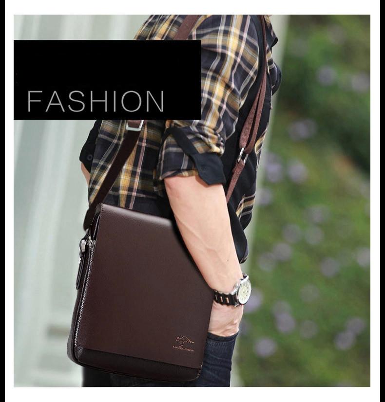 New Arrived luxury Brand men's messenger bag Vintage leather shoulder bag Handsome crossbody bag handbags Free Shipping 21