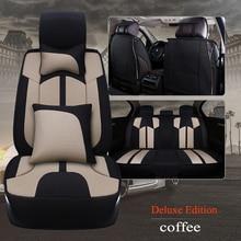 Kalaisike Flachs Universal Autositzbezüge für Lexus alle modelle nx lx470 gx470 ES IST RX GX GTH LX auto zubehör auto styling