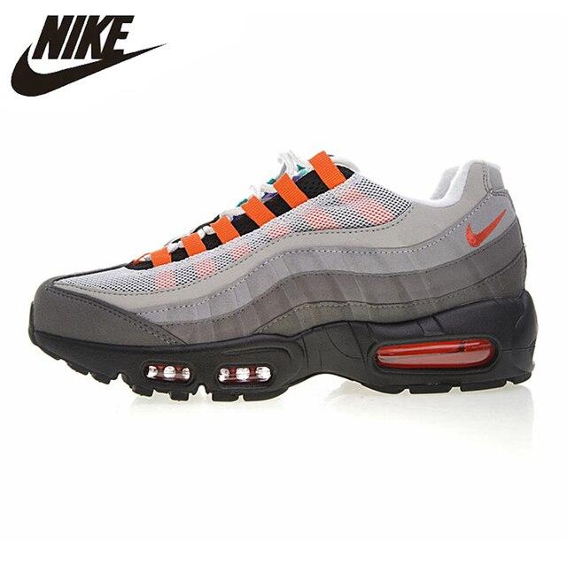 NIKE AIR MAX QS 95 OG Tênis de Corrida dos homens, Tênis Ao Ar Livre Sapatos, absorção de Choque Respirável Leve 810374 078
