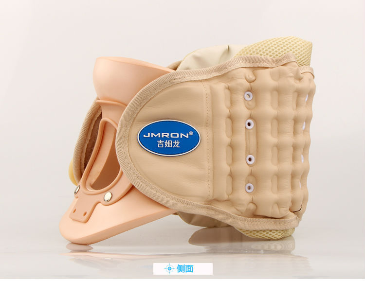 Cervical traction apparatus for medical home cervical spondylosis traction inflatable neck massager cervical traction apparatus cervical spondylosis inflatable correction household neck collar and neck stretcher a neck pain