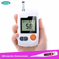 Cofoe Yili Glucometer Glucose Meter Blood Sugar Monitor Diabetes Tester Home Measurement System with 100pcs Test Strips &Lancets