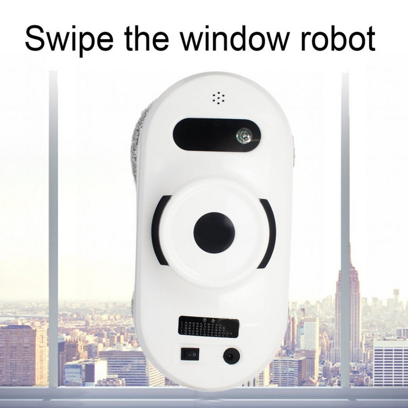 Smart Fenêtre Robot Cleaner Brusher Lunettes Vide Cleanner Haute Aspiration Anti-Chute Télécommande Robot D'essuie-Glace Grattoir