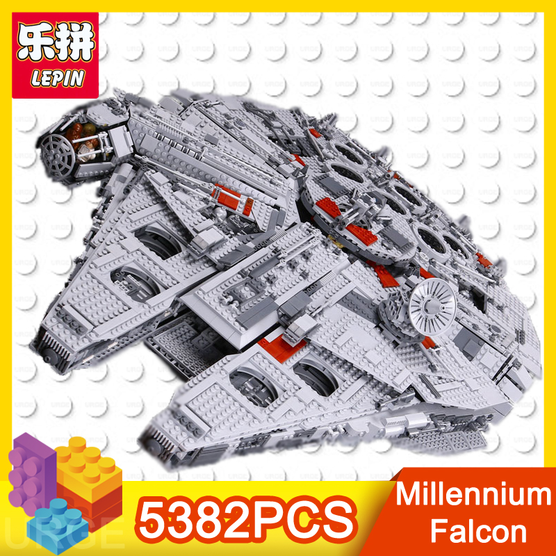 lepin 05033 5382PCS Star Wars Series Death Star Building Blocks Bricks Kits Compatible toys for children Birthday Christmas Gift банный комплект softline 05033