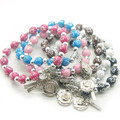 catholic  rosary  bracelet , fashion  bracelets,  rose  bracelets