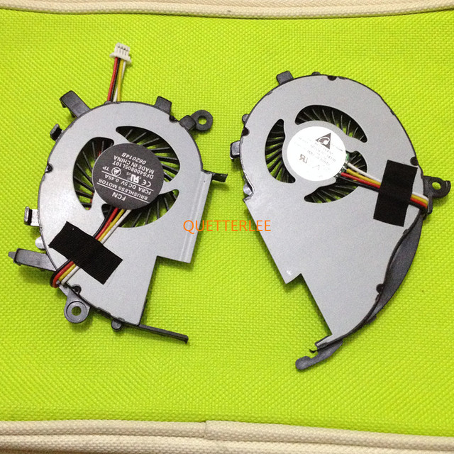 NEW  DFS400805PB0T  CPU COOLING FAN FOR ACER V5-472 V5-472P V5-572G V5-573G CPU And VGA COOLER FAN