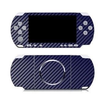 Azul De Fibra De Carbono Vinil Adesivo de Pele Protetor para Sony PSP 3000 skins Adesivos para PSP3000