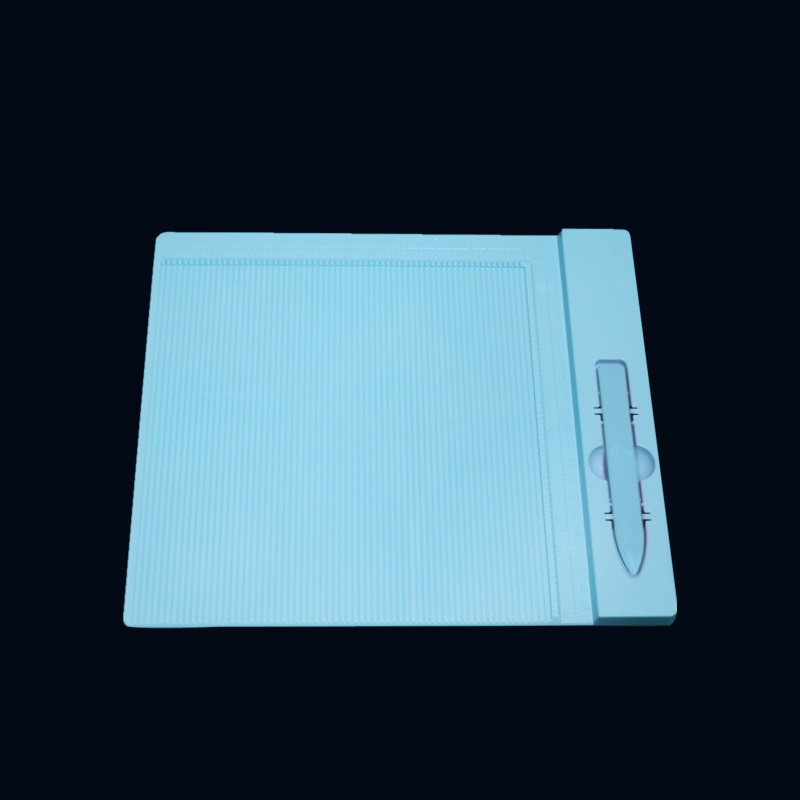 Plastic score grooving board for scrapbooking paper craft card making envelope 27.5*23cm Folding Creasing craft tool