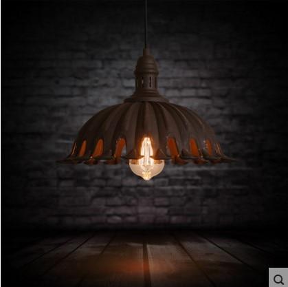 American Retro Style Loft Industrial Lamp Vintage Pendant Lights Fixtures Luminaire Wrount Iron 60W Edison Lighitng american edison loft style rope retro pendant light fixtures for dining room iron hanging lamp vintage industrial lighting