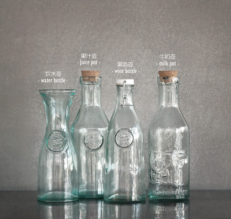 Online buy wholesale recycled colored glass from china for Where to buy colored wine bottles