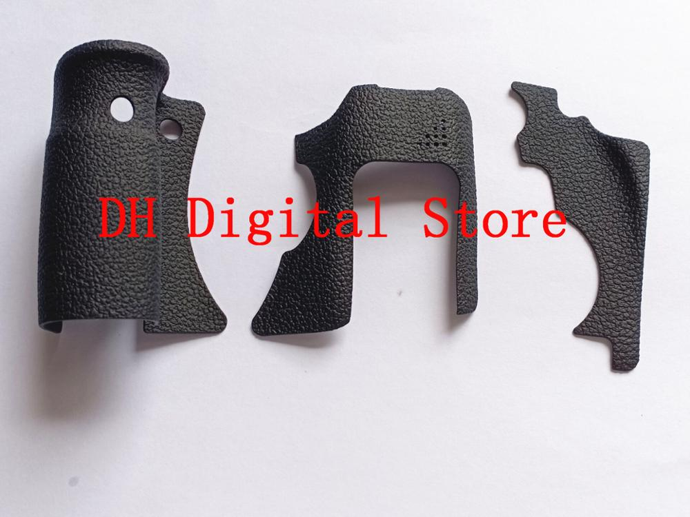100%New Original 3 Pieces Grip Rubber Cover Unit For Canon 6D DSLR Camera