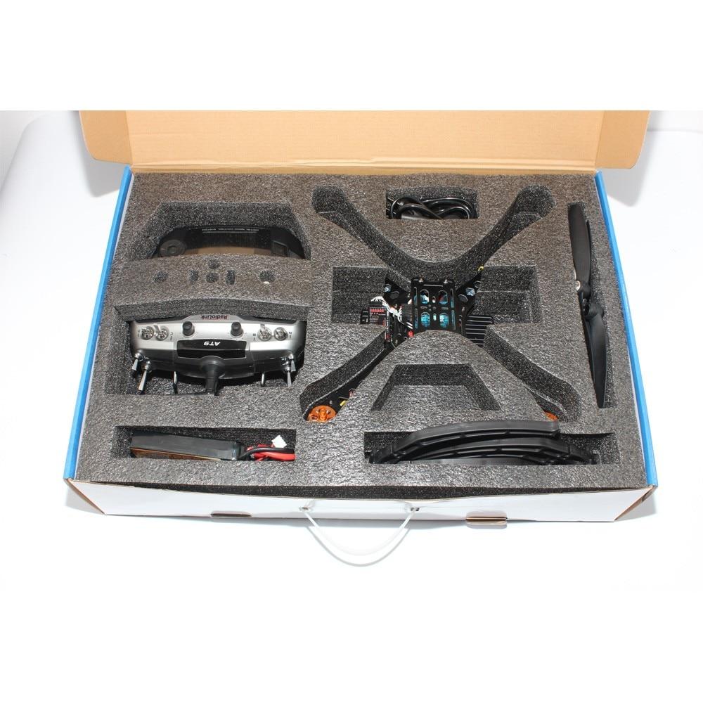 Full DIY Mini Racing Drone RC Racer 310 Fiberglass Frame Multicopter MICRO F3 Flight Controller AT9 FS-i6 Transmitter F14891-H