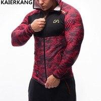 NEW Men Hoodies Brand Casual Hoodie Hombre Coat Bodybuilding And Fitness Hoodies Sweatshirts Zipper Muscle Men