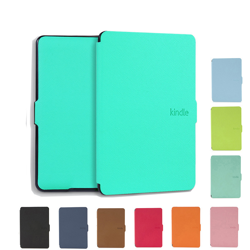 Case for Amazon Kindle Paperwhite 1/2/3 E-Book Cover Case PU Leather Screen Protective Cover for Kindle Paperwhite 123 + HD Film slim nylon sleeve pouch case for kindle paperwhite 123 voyage 7th 8th gen pocketbook 622 623 e reader sleeve case 6