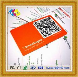 Carte plastique QR code et impression de cartes code-barres