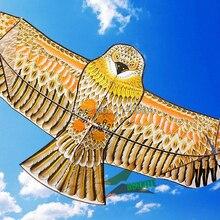 Высокое качество 2 м золотой орел кайт с ручкой линии кайт игры Птица воздушный змей Вэйфан китайский воздушный змей летающий дракон hcx