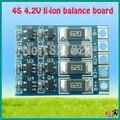 4S 4.2 v li-ion equilibrador tablero balncing li-ion batería carga completa tabla de equilibrio