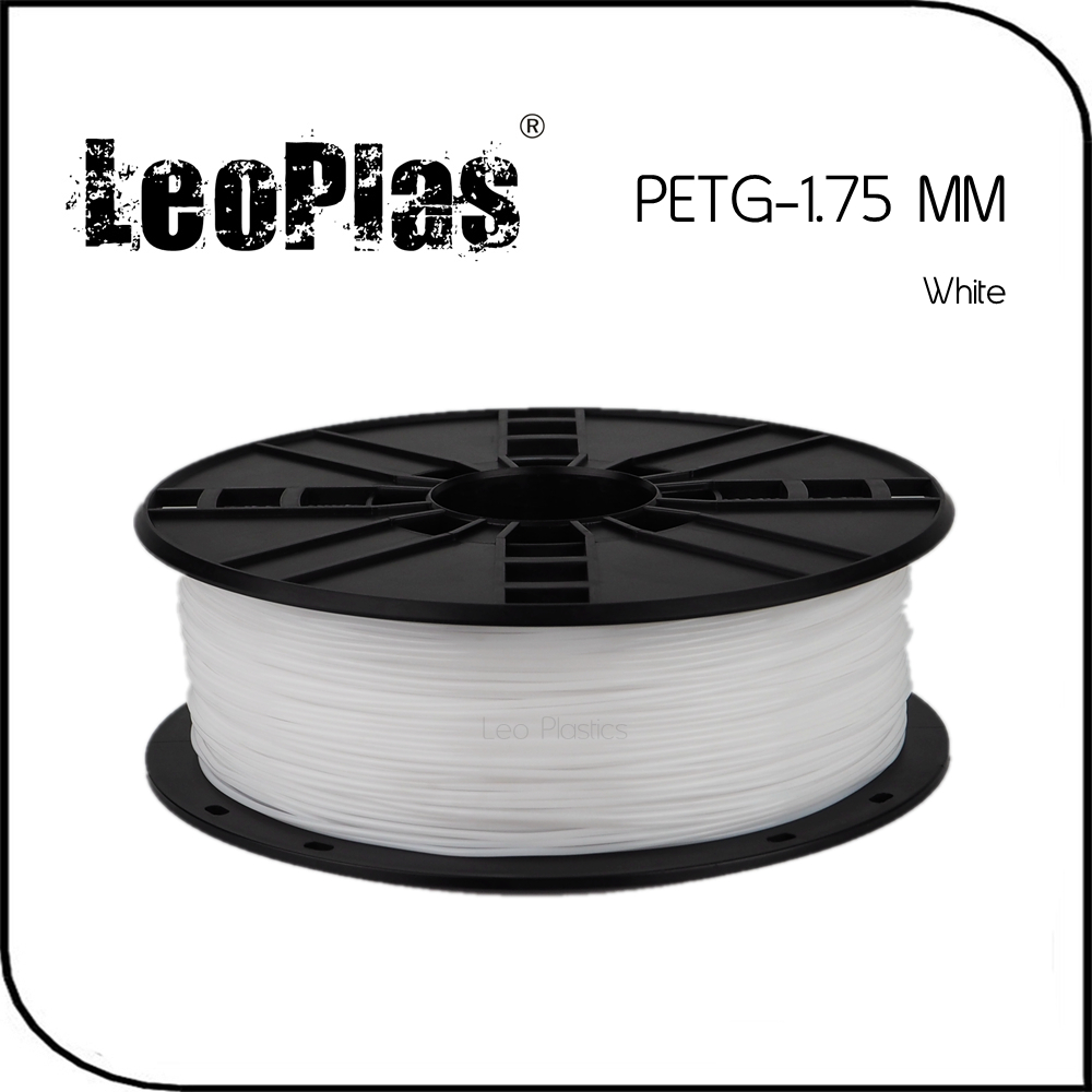 Worldwide Fast Delivery Direct Manufacturer 3D Printer Material 1kg 2 2lb 1 75mm White PETG Filament