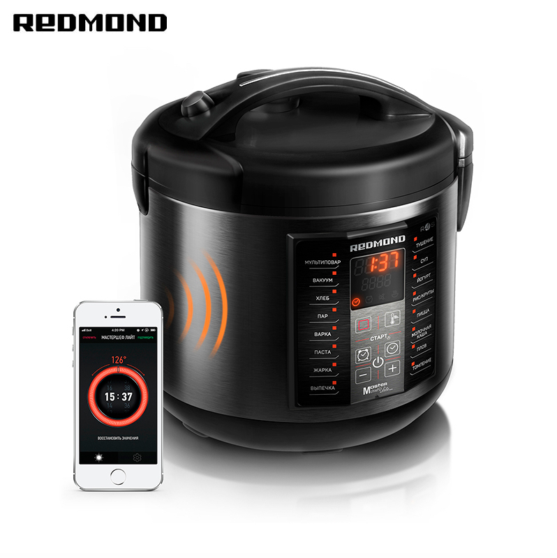 Multi Cooker REDMOND RMC-M40S Multivarka Multivarki Multivarka Cooker Smart Home Zipper Pressure Cooker Multivark Multicooker
