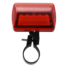 Taillight 5-LED Taillight Bicycle Rear Lamp Red 7 Light Modes